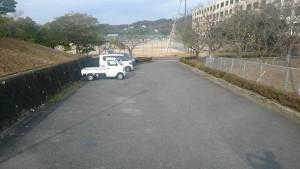 お 駐車場